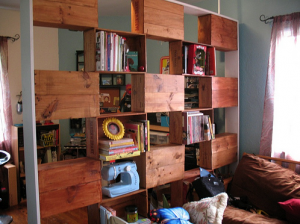 3wall of shelving