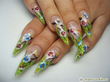 Inspirational stiletto nails