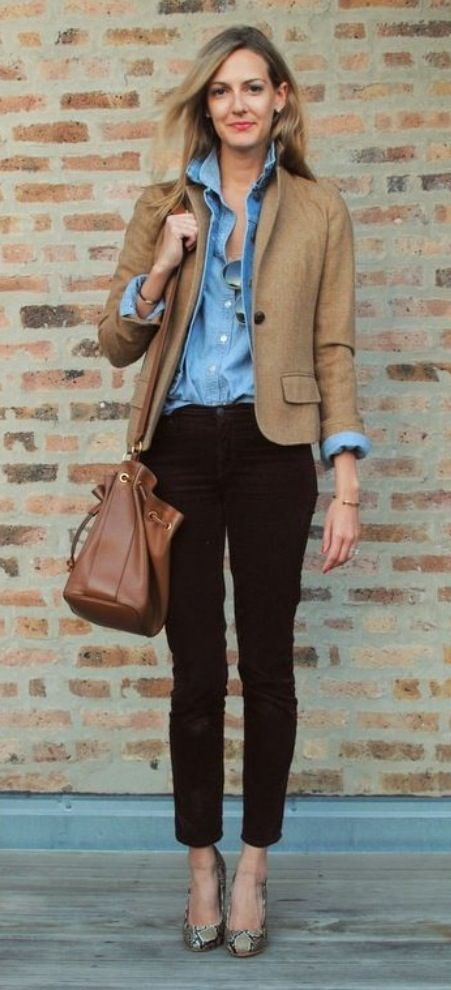 5 ways to wear a denim shirt