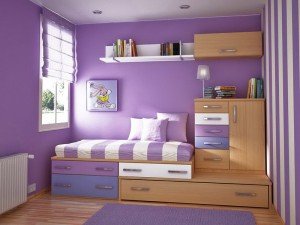 Exotic-Paint-Colors-with-Purple-White-Combining-for-Bedroom