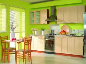 tropical_style_green_kitchen_cabinet