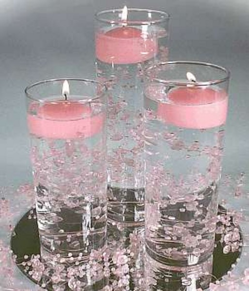 Wedding Centerpieces With Candles: Centerpieces