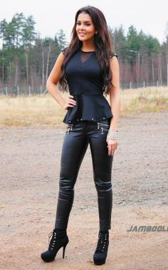 Exciting outfits! How to wear your leather leggings