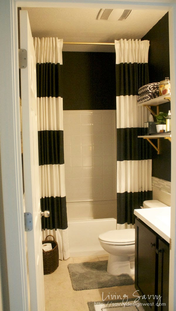 Best Shower Curtain Design Ideas Photos - Decorating Interior ...