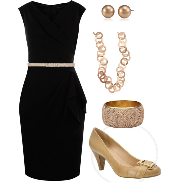 LITTLE BLACK DRESS OUTFIT - Nasha Bendes