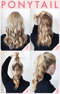 Easy-and-Quick-Ponytail-Hairstyles-for-Work