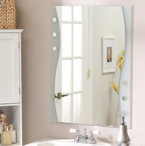 Frameless-bathroom-mirror