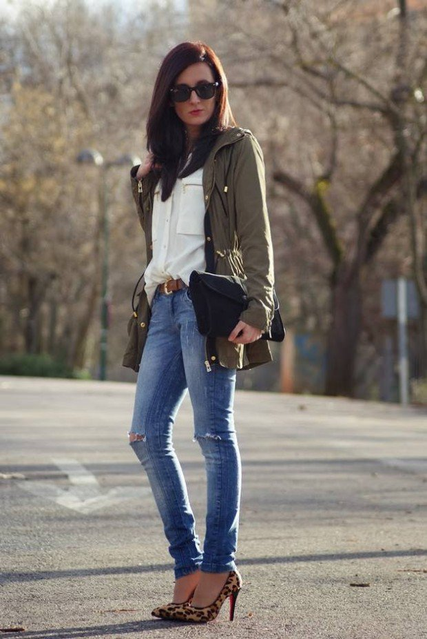 delve into the world of jeans cute winter outfits