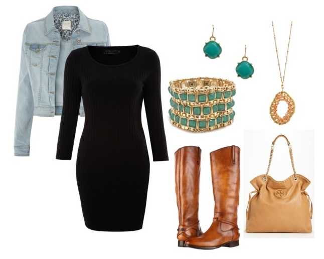 Timeless and elegant how to wear your little black dress for Jewelry accessories for black dress