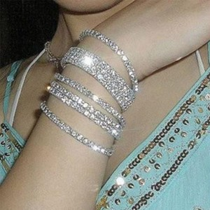 Luxury-Elegant-Shinning-Crystal-Rhinestone-Diamond-Elastic-Bracelet-Women-Jewelry-Cuff-Bangle-Hand-Chain-Y50-MHM219