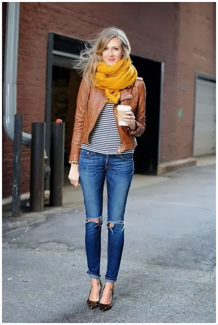 How to dress up torn jeans pictures