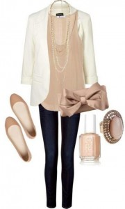 White-Blazer-Neutral-Colored-Tank-Black-Jeanspants-Nude-Flats.-This-Is-A-Very-Simple-And-Elegant-Neutral-Outfit.