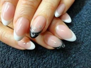 acrylic-backfill-design-reshaped-almond-cusp-LED-polish-french-white-pink-black-nail-lacquer-opi-nail-polish-Pedicure-nails-care-natural-healthcare-classic-Acrylic-Nails-Nail-Art