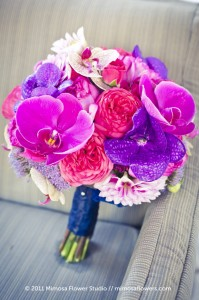 colorful-spring-wedding-bouquet-pink-purple