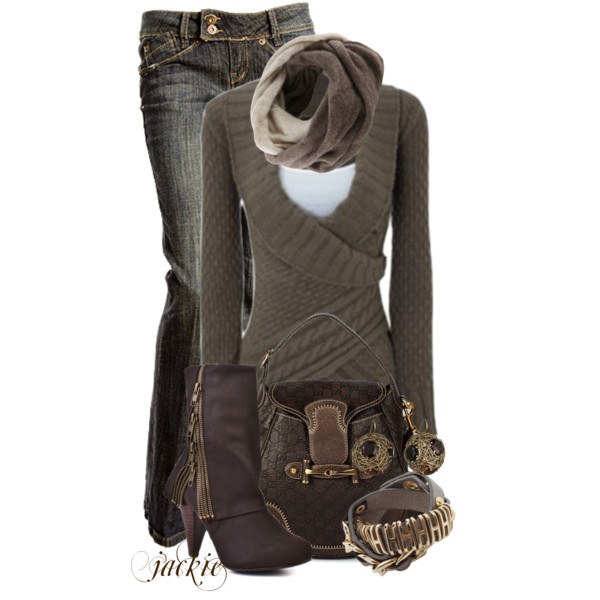 Delve into the world of jeans! Cute winter outfits ...
