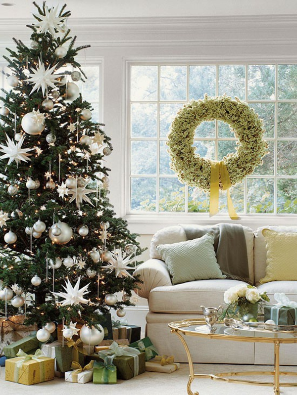 Simply elegant - easy Christmas decorating ideas
