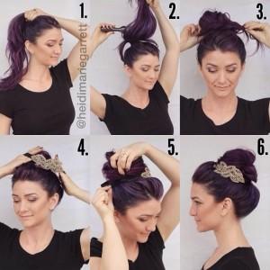 headband-autour-du-chignon