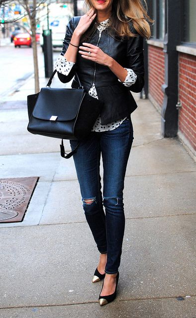 great ways to wear your ripped jeans in winter � lifestuffs