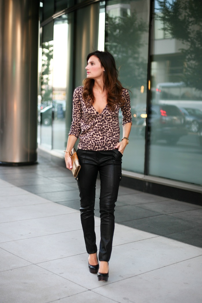 Exciting Outfits! How To Wear Your Leather Leggings U2013 LifeStuffs