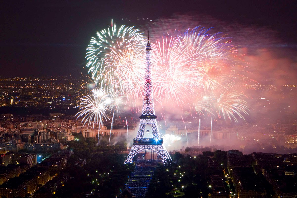 New Year's Eve in Paris, the City of Love