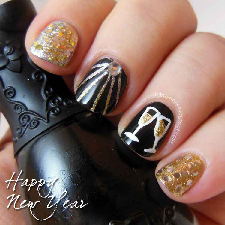 New years eve finger nail designs images nail art and nail new years eve finger nail designs gallery nail art and nail nail art designs for new prinsesfo Image collections