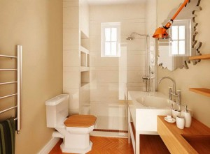 small-bathroom-design-ideas-on-a-budget-with-wooden-flooring