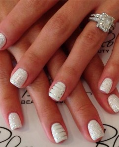 stripe-and-sparkle-wedding-nails