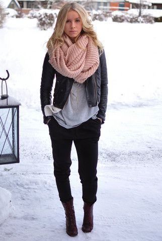 Winter fashion! Fashionable outfits