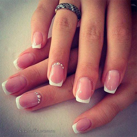 Amazing manicures for your perfect wedding day