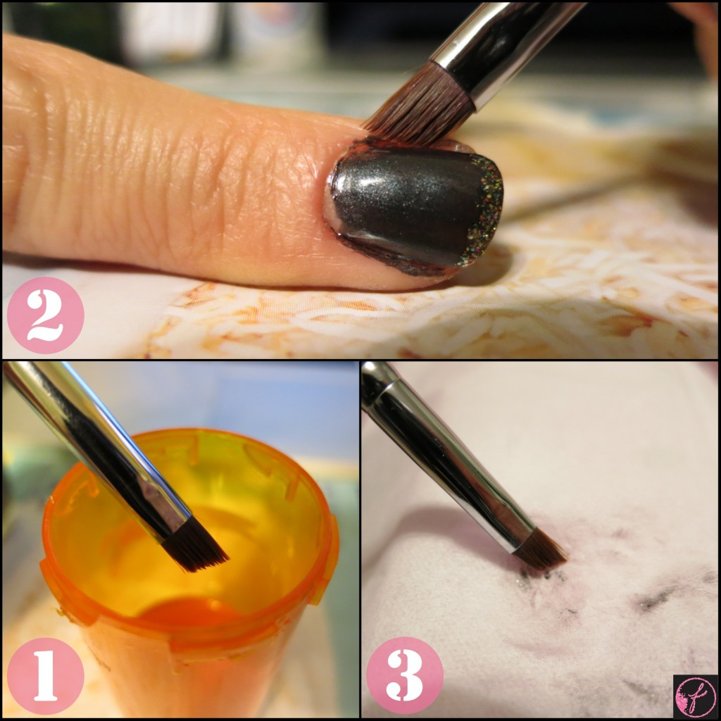 how to clean nail polish off cuticles