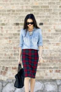 denim-top-and-pencil-skirt
