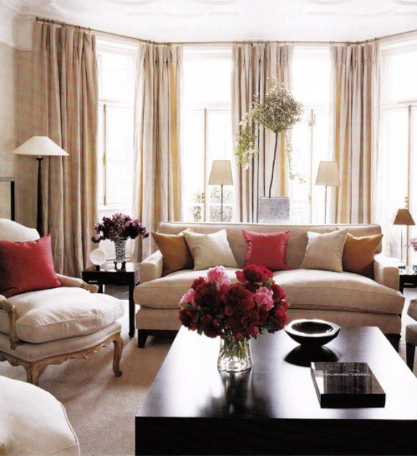 How to decorate a beige living room