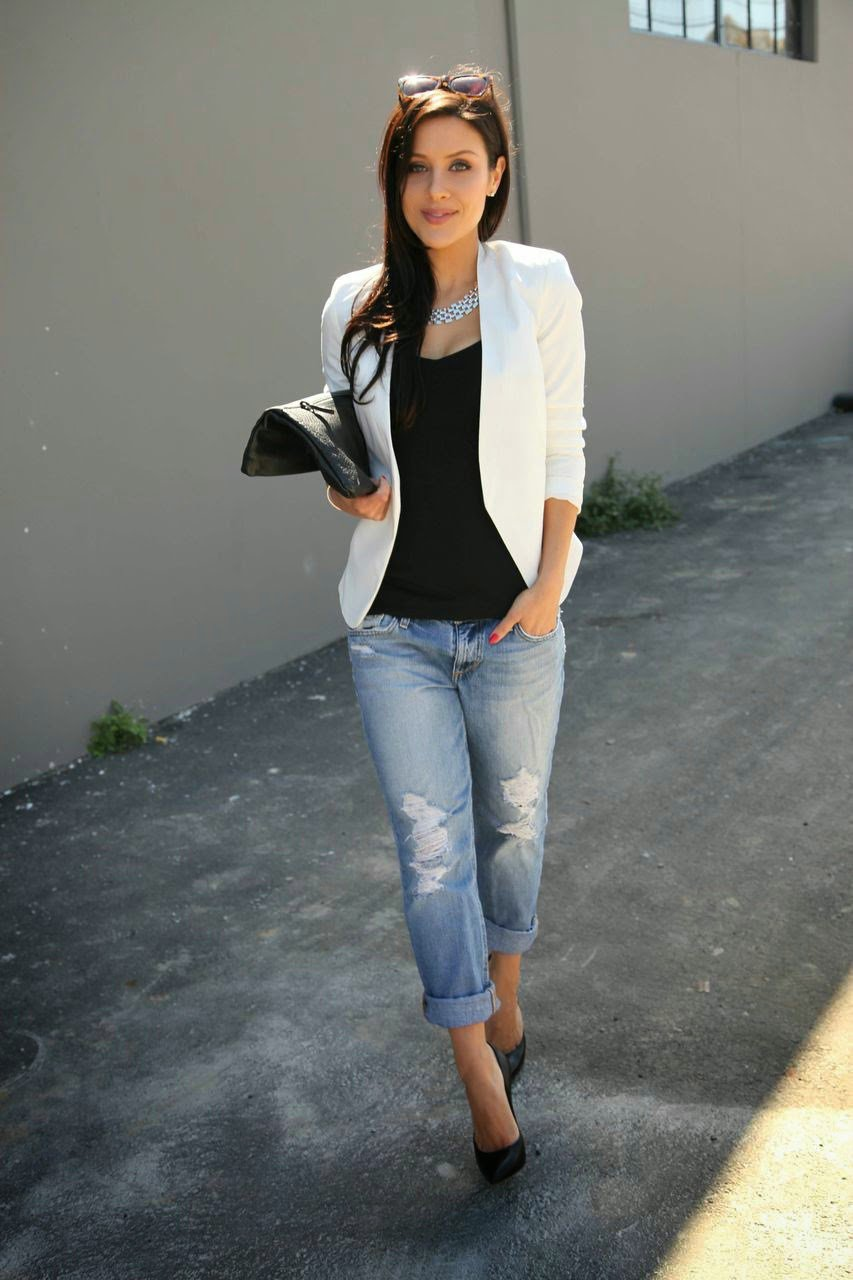 Amazingly stylish! How to wear boyfriend jeans
