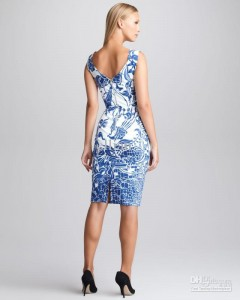 new-women-fashion-vintage-print-dress-elegant