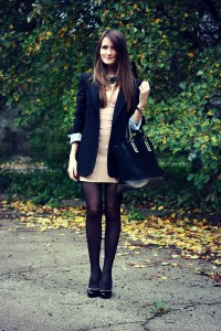 nude-bodycon-bershka-dress-black-oversized-asos-blazer_400