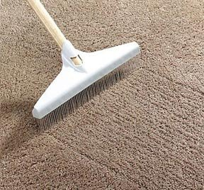 A spring-cleaning frenzy - how to deal with a shedding rug