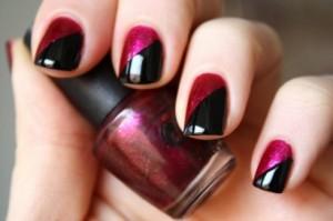 Two-color-nail-polish-design