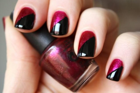 Polished nail designs images nail art and nail design ideas flawless nails tips to make your manicure last up to 7 days two color nail polish prinsesfo Images