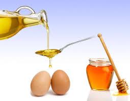 Stronger hair with egg yolk