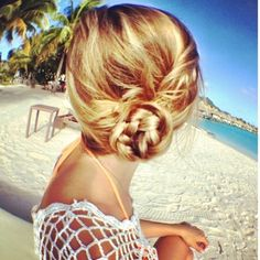 Amazing and easy beach hairstyles