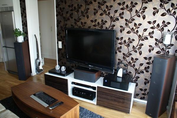wallpaper room design ideas, Home designs