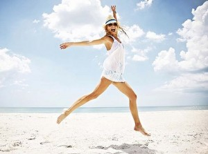 femeie-la plaja