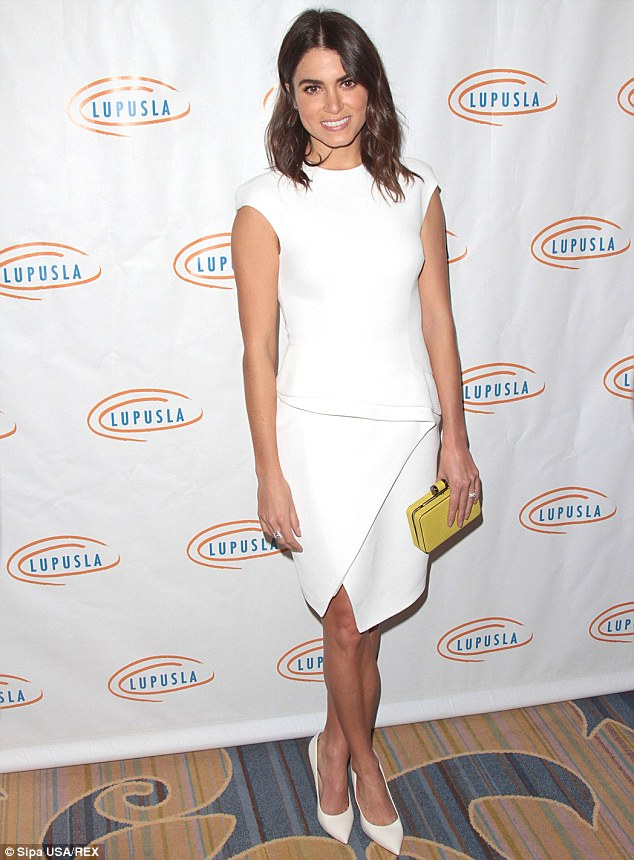 Short White Dress with Shoes