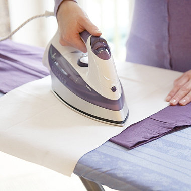 Useful ironing tips for busy women
