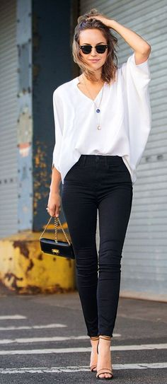 Fall style - Stylish and chic jeans outfits