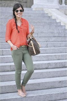 Be bold - Dare to wear these unique color combinations