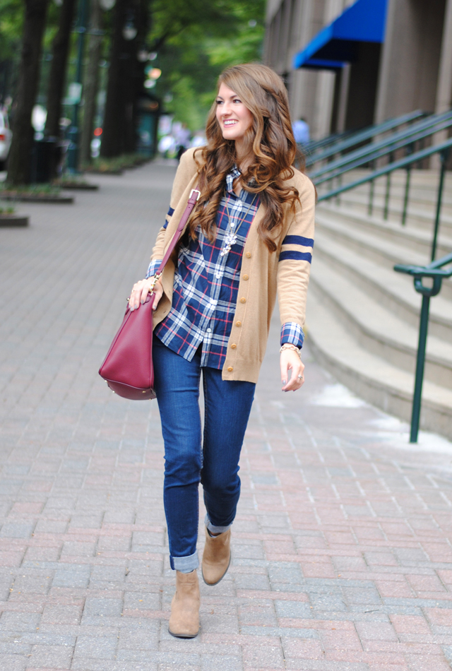 Fall wardrobe essentials - How to style flannel shirts