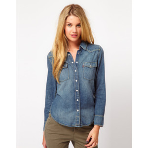 Be fashionable - Chic ways to wear a denim shirt
