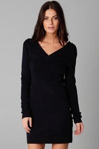 v-neck-sweater-dress