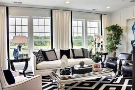 A monochrome interior - Tips for styling a monochrome living room